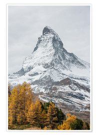 Póster  Matterhorn from Riffelalp, Zermatt, Switzerland - Peter Wey