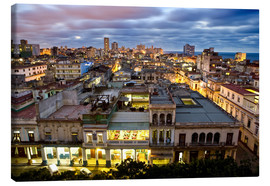 Lienzo  View over Havana - Lee Frost