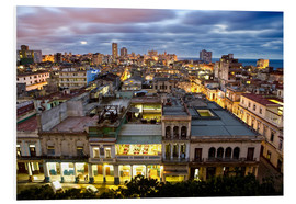 Cuadro de PVC  View over Havana - Lee Frost