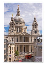 Póster St. Paul's Cathedral, London
