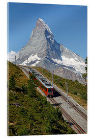Cuadro de metacrilato  Excursion to the Matterhorn - Hans-Peter Merten