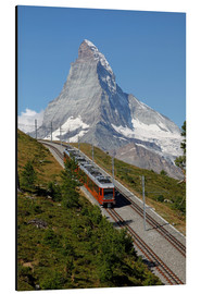 Cuadro de aluminio  Excursion to the Matterhorn - Hans-Peter Merten