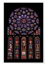 Póster  Rose window - Nick Servian
