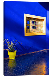 Lienzo  Blue house, Majorelle Garden - Guy Thouvenin