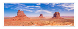 Póster  Monument Valley Navajo - Neale Clarke