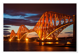 Póster  Puente de Forth, South Queensferry - Neale Clarke