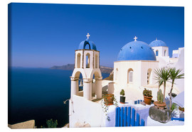 Lienzo  Oia (Ia), island of Santorini (Thira), Cyclades Islands, Aegean, Greek Islands, Greece, Europe - Sergio Pitamitz