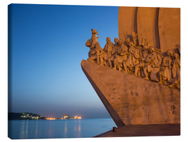 Lienzo  Monument to Discoveries, Belem, Lisbon, Portugal, Europe - Angelo Cavalli