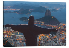 Lienzo  Christ the Redeemer, Corcovado - Angelo Cavalli