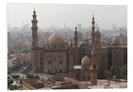 Cuadro de PVC  Mosque of Sultan Hassan in Cairo old town, Cairo, Egypt, North Africa, Africa - Martin Child