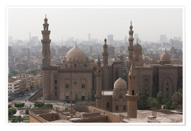 Póster  Mosque of Sultan Hassan in Cairo old town, Cairo, Egypt, North Africa, Africa - Martin Child