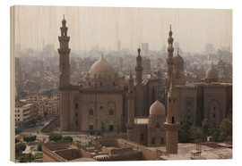 Cuadro de madera  Mosque of Sultan Hassan in Cairo old town, Cairo, Egypt, North Africa, Africa - Martin Child