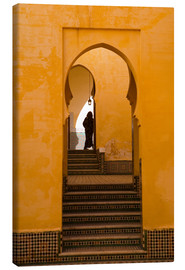 Lienzo  Mausoleum of Moulay Ismail, Meknes, Morocco - Marco Cristofori
