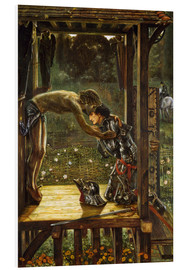 Cuadro de PVC  The Merciful Knight - Edward Burne-Jones