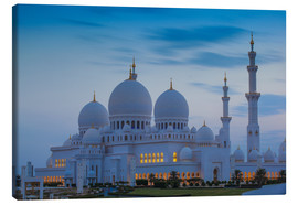 Lienzo  Sheikh Zayed Grand Mosque - Jane Sweeney