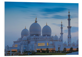 Cuadro de PVC  Sheikh Zayed Grand Mosque - Jane Sweeney