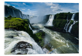 Metacrilato  Foz de Iguazu (Iguacu Falls), the largest waterfalls in the world, Iguacu National Park, UNESCO Worl - Michael Runkel