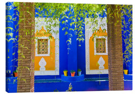 Lienzo  Windows in the Majorelle Gardens - Matthew Williams-Ellis