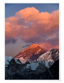 Póster  Mount Everest & Mount Lhotse