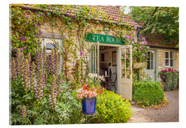 Cuadro de metacrilato  Typical English Tea Room in Wiltshire (England) - Christian Müringer
