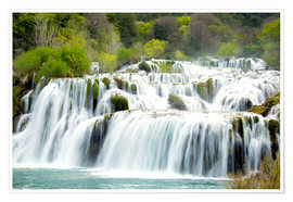 Póster  Krka national park - Alex Robinson