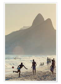 Alex Robinson - Locals playing football on Ipanema