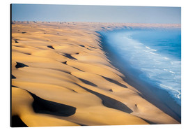 Cuadro de aluminio  Namib Desert on the Atlantic - Roberto Sysa Moiola