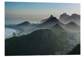Cuadro de PVC  View from the Sugarloaf - Michael Runkel