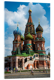 Metacrilato  St. Basil's Cathedral, Moscow - Michael Runkel