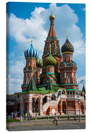 Lienzo  St. Basil's Cathedral, Moscow - Michael Runkel