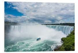 Forex  Tourist boat in the mist of the Horseshoe Falls (Canadian Falls), Niagara Falls, Ontario, Canada, No - Michael Runkel