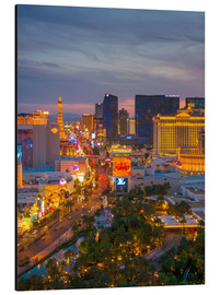 Cuadro de aluminio  The Strip, Las Vegas, Nevada, United States of America, North America - Alan Copson