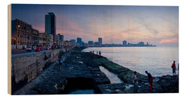 Madera  The Malecon, Havana, Cuba, West Indies, Central America
