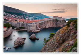 Póster  Dubrovnik at sunrise - Matthew Williams-Ellis