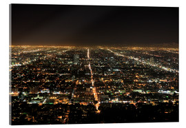 Cuadro de metacrilato  Los Angeles at night - Wendy Connett