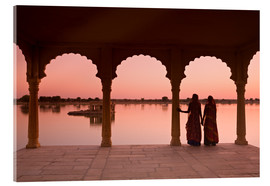 Metacrilato  Indian Women, Jaisalmer - Douglas Pearson
