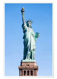 Póster  Statue of Liberty in New York USA - Jan Christopher Becke