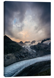 Lienzo  Sunset view from Chamanna Boval, Pontresina, Engadin, Switzerland - Peter Wey