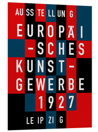 Cuadro de PVC  Europäisches Kunstgewerbe Leipzig, 1927 - THE USUAL DESIGNERS