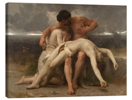 Lienzo  The First Mourning - William Adolphe Bouguereau