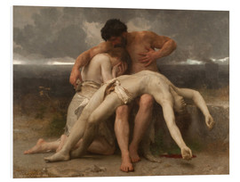 Cuadro de PVC  The First Mourning - William Adolphe Bouguereau