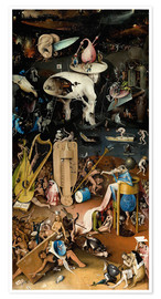 Hieronymus Bosch - Garden of Earthly Delights, Hell