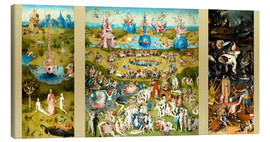 Lienzo  The Garden of Earthly Delights - Hieronymus Bosch