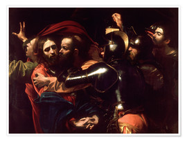 Póster  Arrest of Christ - Michelangelo Merisi (Caravaggio)