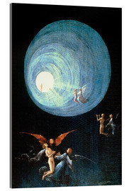 Metacrilato  The Ascent to the Heavenly Paradise (detail) - Hieronymus Bosch
