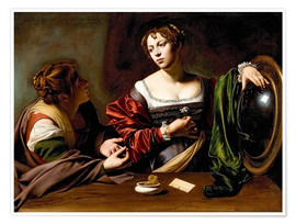 Michelangelo Merisi (Caravaggio) - Martha and Mary Magdalene