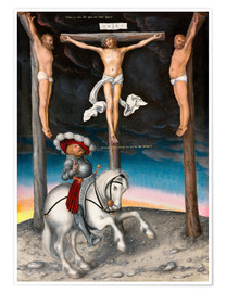 Póster The Crucifixion with the converted Captain