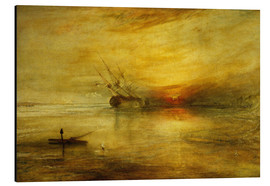 Cuadro de aluminio  Fort Vimieux - Joseph Mallord William Turner