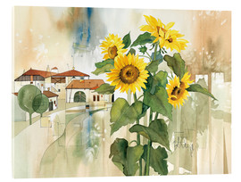 Cuadro de metacrilato  Sunflower greetings - Franz Heigl