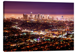 Lienzo  Los Angeles at night - Daniel Heine